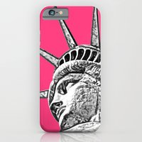 New York Statue Of Liber… iPhone 6 Slim Case
