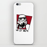Storm Fried Chicken iPhone & iPod Skin