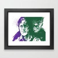 Always Angry Framed Art Print