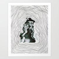 Warp World Art Print