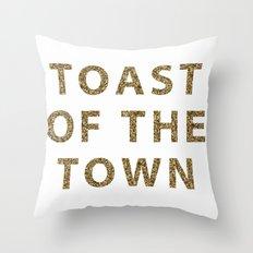 Kate Spade - Toast Of Th… Throw Pillow