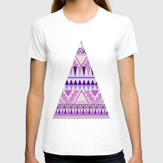 Aztec; Purple Dreams T-shirt