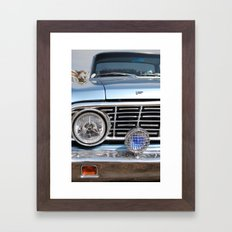 sweet vintage car Framed Art Print
