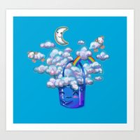 Bucket of Dreams Art Print