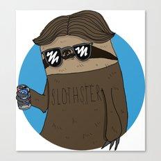 Slothster Canvas Print
