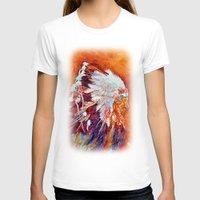 native american T-shirts featuring Native American by LiliyaChernaya