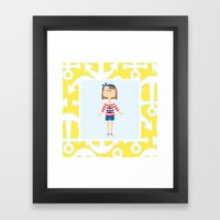 Sail Away! Framed Art Print