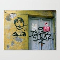 Chinese Street Circus Canvas Print