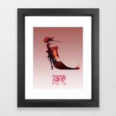PS- Y design Framed Art Print