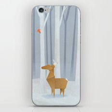 Origami deer in the Woods iPhone & iPod Skin
