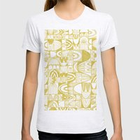 Golden Doodle Squares Womens Fitted Tee Ash Grey SMALL