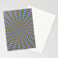 Optically Challenging Coils and Beams Stationery Cards