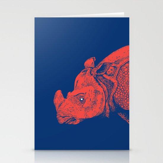 Red Rhino Stationery Card