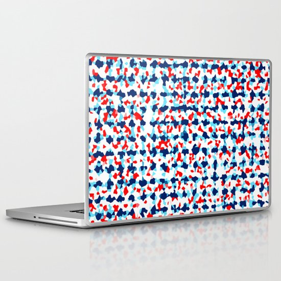 Abstract Beach Floral Laptop & iPad Skin