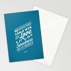 One Hit Wonder- Buffalo Stance, Blue Stationery Cards