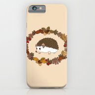 Kawaii Hedgehog iPhone 6 Slim Case