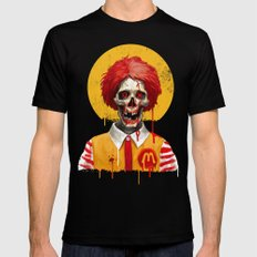 Saint Ronald Mens Fitted Tee Black SMALL