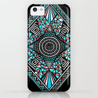 iPhone 5c Cases featuring New Paths by Pom Graphic Design