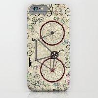 Love Fixie Road Bike iPhone 6 Slim Case