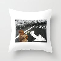 You Don't Have To Follow… Throw Pillow
