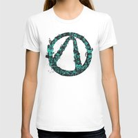 Borderlands 2 Womens Fitted Tee White SMALL