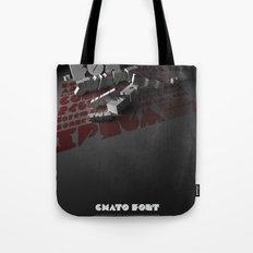 Chato Font poster Tote Bag
