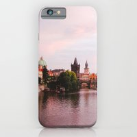 iPhone & iPod Case featuring PRAGUE by Megan Robinson