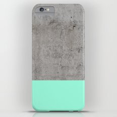 Sea on Concrete iPhone 6s Plus Slim Case