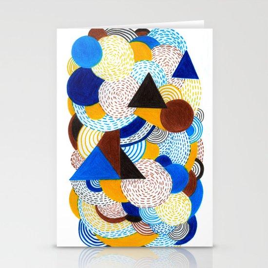Cold sunshine Stationery Card