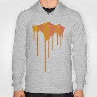 Orange Splatter Hoody