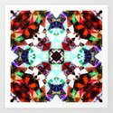 Colorful Kaleidoscope Creation Art Print
