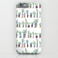 Plants in pots iPhone 6 Slim Case