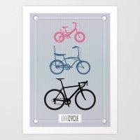 Lifecycle Art Print