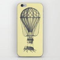Discovery (grey on yellow) iPhone & iPod Skin