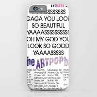 iPhone & iPod Case featuring artRAVE 2014 by RickyRicardo787