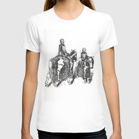 X-Ray Horsemen Womens Fitted Tee White SMALL