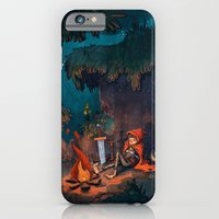 iPhone & iPod Case featuring The Weary Traveller Rests by Tim Probert