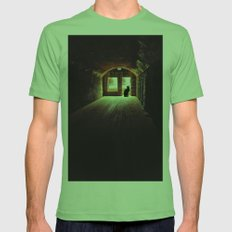 On Guard Mens Fitted Tee Grass SMALL