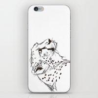 CHEETAH B&W iPhone & iPod Skin