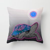 California Pleasure Turt… Throw Pillow