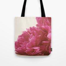 Pretty Pink Peonies Tote Bag