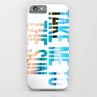 Take Me To The Sun 2 iPhone 6 Slim Case