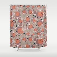 BP 46 Abstract Shower Curtain