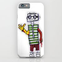 iPhone & iPod Case featuring Nerdcore Tomato Eater by chrisdacs