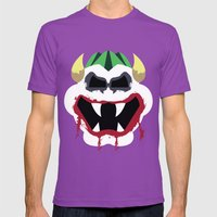 Joke's On You Bowser Mens Fitted Tee Ultraviolet SMALL