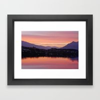 Queenstown, NZ Framed Art Print