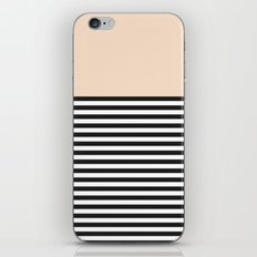 STRIPE COLORBLOCK {CREAM} iPhone & iPod Skin