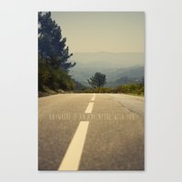 Anywhere Is An Adventure… Canvas Print