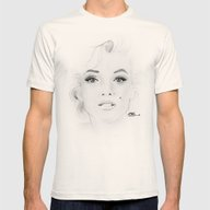 Marilyn Monroe Mens Fitted Tee Natural SMALL