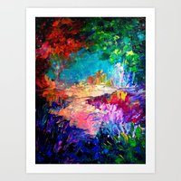 WELCOME TO UTOPIA Bold R… Art Print